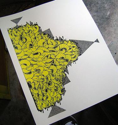 New Silkscreened prints by Ako/Akayo