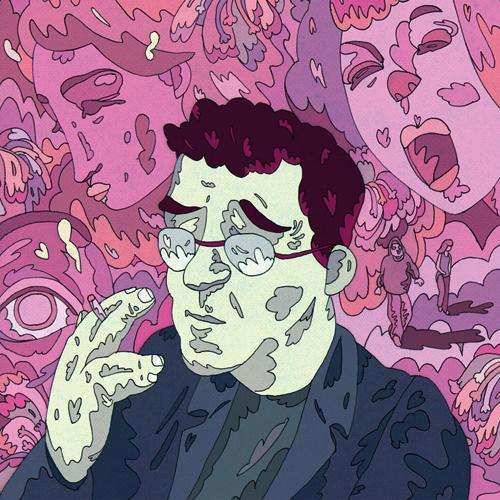 Portrait of Roberto Bolaño for The Stranger