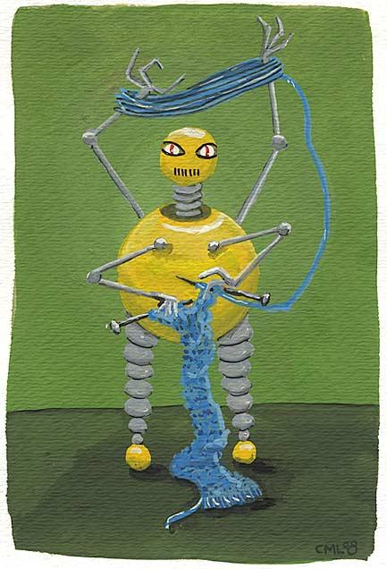 Christine Marie Larsen: February Robot