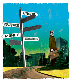 Ethics, lawyers and the economic crisis