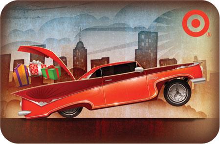 Jeff Miracola illustrates Target Gift Card