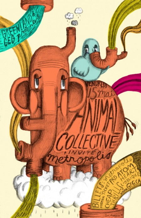 Love, Christine: ANIMAL COLLECTIVE POSTER
