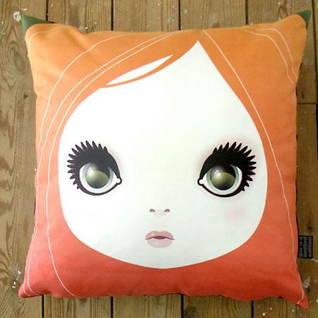 Girl cushion