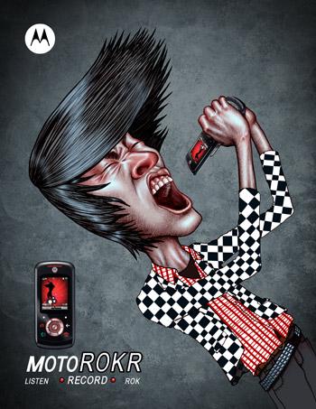 Motorola sample ad