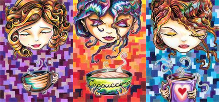 Coffee Girls by Bryan Collins - Reserve one NOW