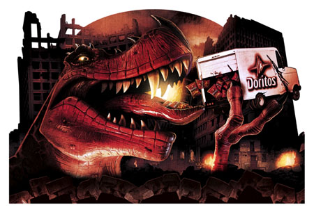 Dino Dash Pos by TWEEKHED