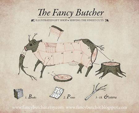 Fancy Butcher Flyer