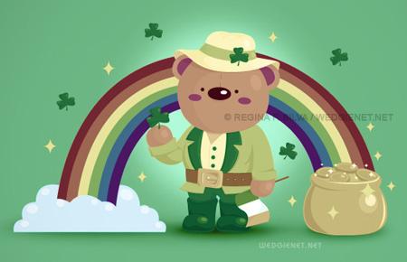 Irish Bear for St. Patrick's Day
