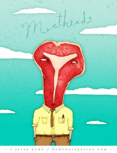 Jesse Kuhn - Meathead - Applied Arts Illustration Annual