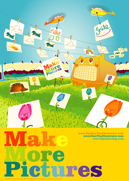 Make More Pictures - Ben the Illustrator