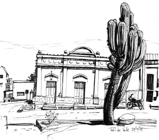 South American sketchbook