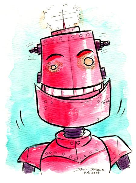 Dani Jones robot