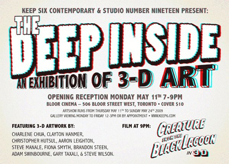 pictures of 3d art. exhibition of 3D art
