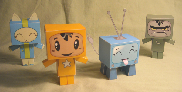 YAM Paper Toys