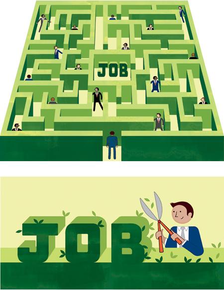 The Employment Maze