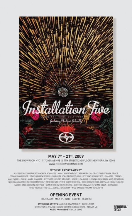 Scion Installation Five - NYC