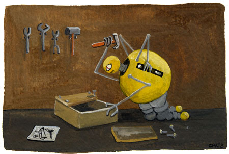 Christine Marie Larsen Illustration: May 2009 Robot of the Month