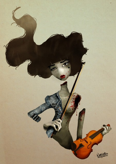 THE FAILED VIOLINIST ©theangryhedonist