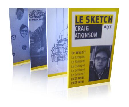 Craig Atkinson + Le Sketch