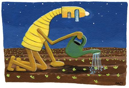 Robot of the Month: June 09: Midnight Garden Robot