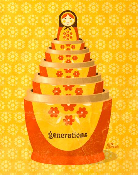 "Sneak Peek of ""Generations"" Cover Illustration"