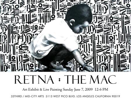 Retna and The Mac