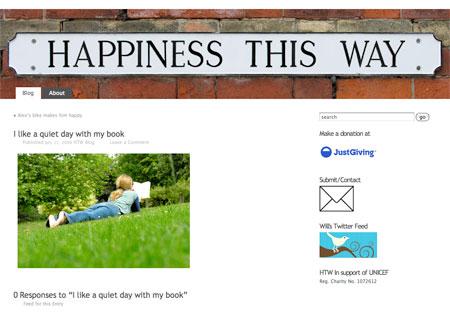 Happiness This Way Blog