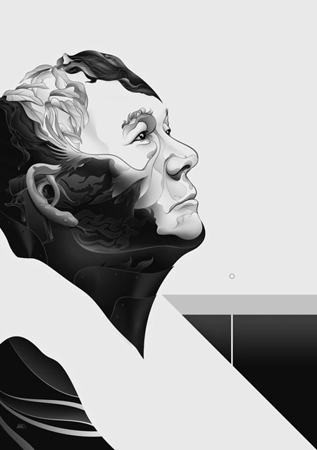 Kitano Portrait by Martin Ansin