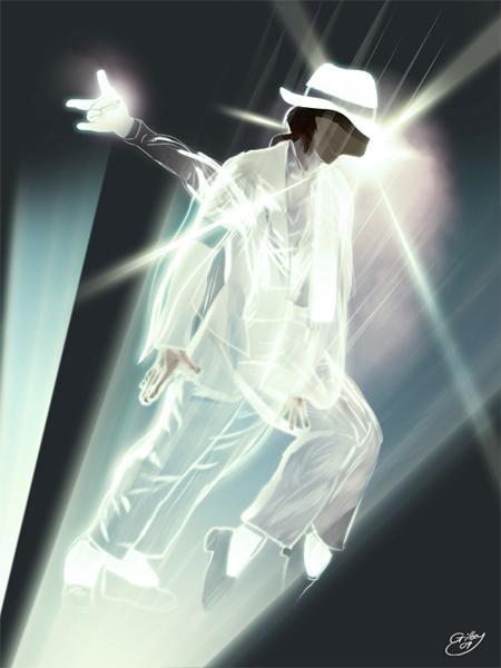 Michael Jackson Tribute Illustration