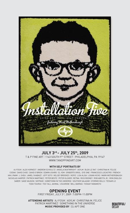 Scion - Installation 5 - Philadelphia