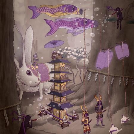 Yahoo! PurpleScape tanukiprocession