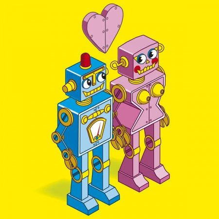 New Robot Love by Rod Hunt