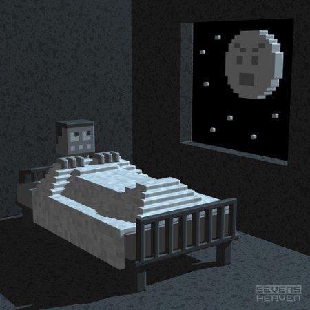 3d-pixel-art-voxel-art_bed-moon-maan-boy-jongen-boogieman-boeman