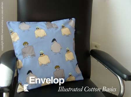 Asa Wikman Rock n Roll Bird Pillow at Envelop