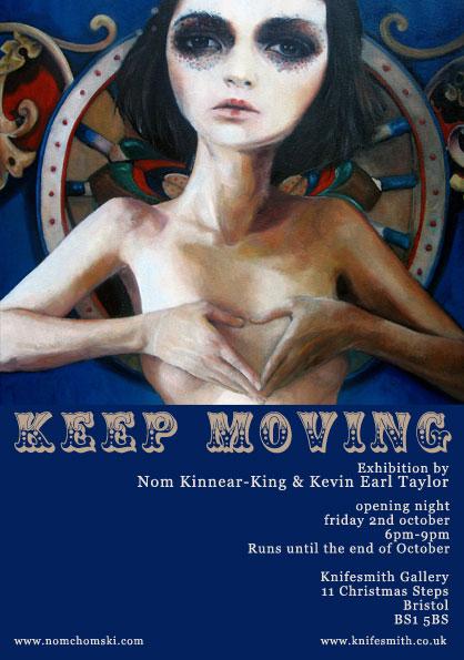 'Keep Moving' Exhibition Bristol