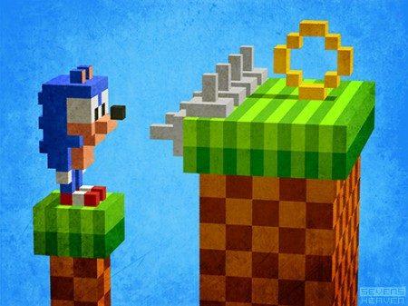 3d-pixel-art-voxels_sonic-the-hedgehog-graphic-art-minimalistic-grafisch