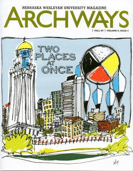 Illustrations by Kathryn DiLego for Archways Magazine