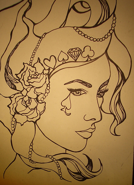 Our Lady Luck Illustration