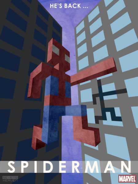 3d-pixels-voxel-artwork-square-graphic-design_spiderman-poster-cover