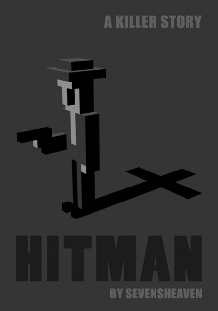3d-pixels-voxels-dots-graphic-design_hitman-movie-comic-poster-cover