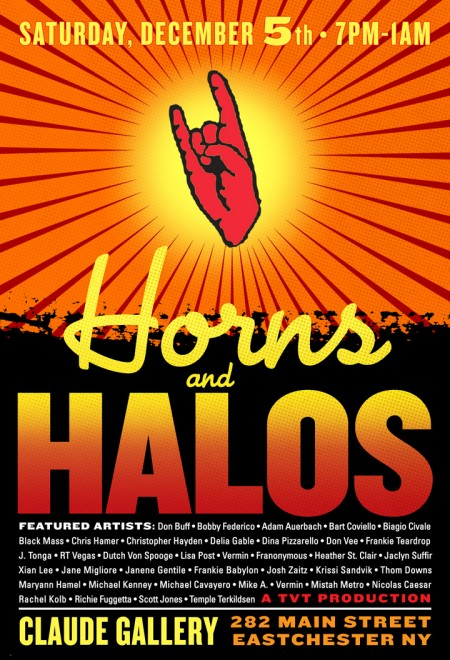 horns a halos final flyer