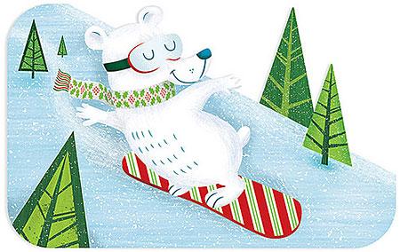 John Coulter Target Snowboarding Polar Bear