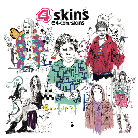 Skins E4 trailer currently airing