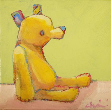 Yellow Teddy by Sekine