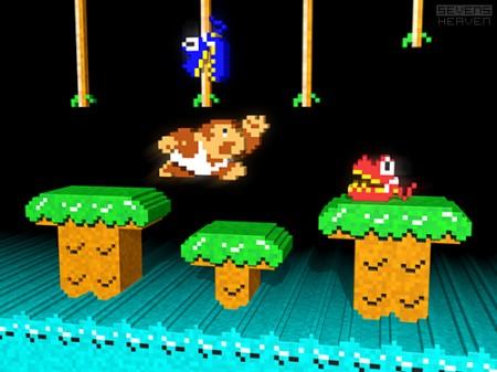 3d-pixel-art-voxel-art-dots_donkey-kong-jr-junior-arcade-game-nintendo