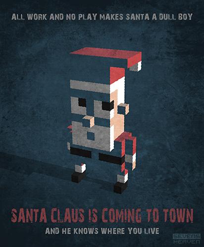 3d-pixels-voxels-grafisch-ontwerp-graphic-design-kerstman-santa-claus-xmas-kerstmis