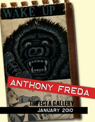 Anthony Freda Returns to Trifecta Gallery