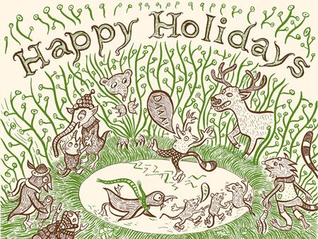Holiday Card - Daaa!
