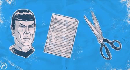 Spock Paper Scissor print