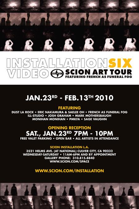 Scion - Installation 6: Video - Los Angeles